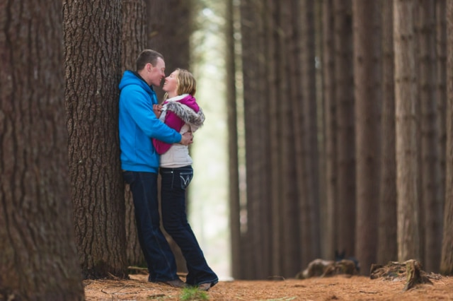 Sugar Pine Walk engagement | Hannah + Jeremy